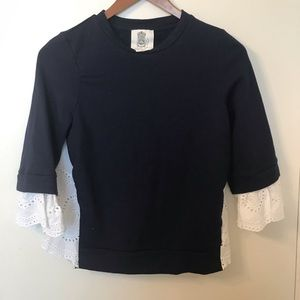 Anthropologie - Lili's Closet: Lace Sweatshirt